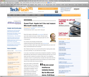 TechFlash gets online journalism